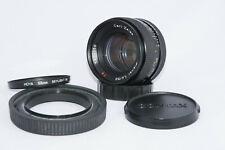 Carl Zeiss Planar 50mm f1.4, Contax/Yashica Mount, recentemente sottoposti a manutenzione, berretti, cappuccio