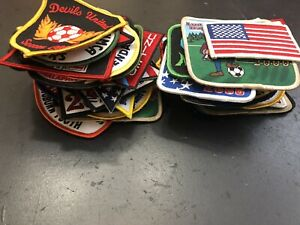 Lot of 57 Soccer Club Patches Early 2000's East Coast