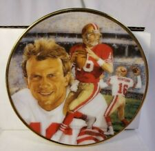 Joe Montana San Francisco 49ers Gartland Collector Mini- Plate Series