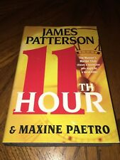 2012 11th Hour Smaller Hardcover Book by James Patterson