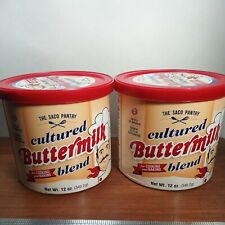 2 Dry Powdered Buttermilk Cultured Blend Milk For Cooking & Baking Saco Pantry