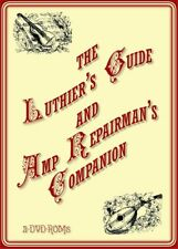 Luthier's Guide & Amp Repairman's Companion - indispensable shop tool 2 DVD-ROM