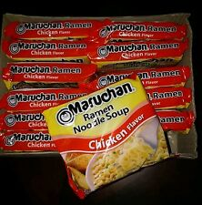 12 pack Chicken Maruchan Ramen Noodle Soup