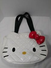 Hello Kitty Head Shape Quilted Bag