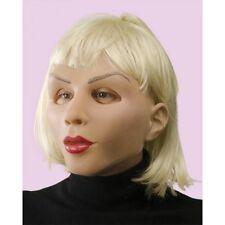 Muñeca sexual realista de Látex Mascarilla, mujer con cabello rubio