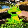 SunCatcher: Happy Frog | GLOWING GARDEN DECORATION | fluorescent garden stake