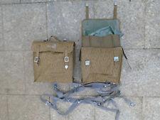 Neu 2 x Packtasche S51 Gummiert für Simson Seitentaschen NVA MZ Sturmgepäck S50