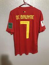 kevin de bruyne Belgium World Cup Jersey