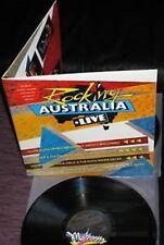 Rocking Australia Live Men at Work mondo rock 2 LP Mushroom Rec. Australia 1982