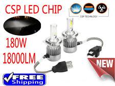 180W H4 H7 H1 H11 LED Headlight Bulb Conversion Kit High Low Beam Vs HID Halogen
