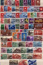 Kl. Sammlung Schweiz o aus  1932 - 1949 -  KW  180,-- €  ( 32778 )
