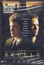 Dvd video **THE SKULLS ~ I TESCHI** con Joshua Jackson Paul Walker  nuovo 2000