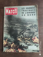 paris Match N°336 3 septembre 1955 Maroc vaucluse bing crosby mangano