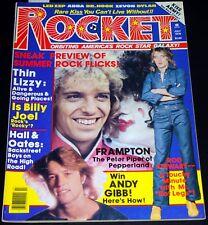 ROCKET Magazine 1978 KISS Aucoin Thin Lizzy Runaways Andy Gibb Shaun Cassidy