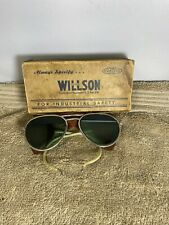 Vintage 1930S Willson Sunglasses Safety Glasses Goggles Usa