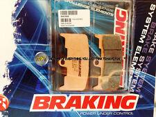 POUR BUELL XB9S LIGHTNING 984 2005 05 PLAQUETTES DE FREIN AVANT Sintérisés BRAKI