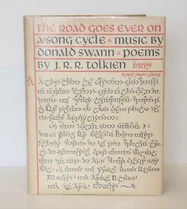J.R.R .Tolkien, The Road Goes Ever On 1st/1st UK Edition, 1968, VG/VG