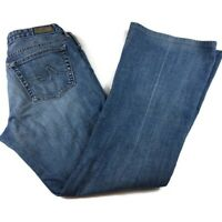 "AG Adriano Goldschmied  Women's ""The Club Jeans"" Flare  Size 31R Inseam 32 USA"
