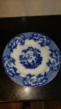Davenport 19c Blue and White Plate.