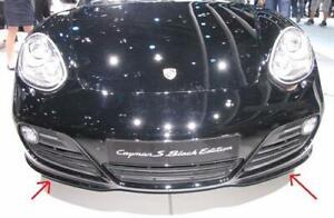 Fits Porsche Cayman S 987 Carbon Spoiler Front Lip Front Lips Facelift