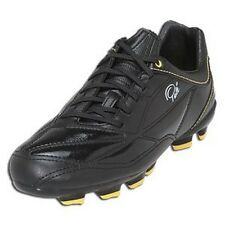 Pele Sports 1958 FG MS Black Yellow Soccer Fussball Schuhe 40,5 41 45 7 8 11 WM
