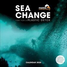 Sea Change 2020 Official Square Wall Calendar Time for a Plastic Detox