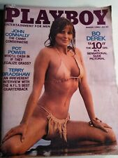 Bo Derek Vintage March 1980 Playboy