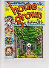 Home Grown Funnies #1 FN/VF (9th) kitchen sink ROBERT CRUMB underground snoid