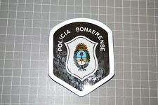 Argentina Police Policia Bonaerense Plastic Patch (B6)