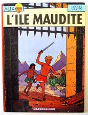 """BD ALIX """"L'ILE MAUDITE"""" / JACQUES MARTIN / Dépôt Légal 1969 / TBE"""