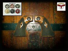 RUGER BLACKHAWK, VAQUERO, SINGLE SIX, WRANGLER GRIPS ~ Aged Ivory Classic Chk QR