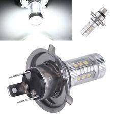 Motorrad 80W H4 9003 LED Birne Lampe Fahrsignal Bremslicht 6000K Weiß  760LM 12V