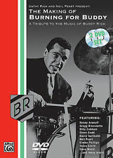 BURNING FOR BUDDY RICH - NEIL PEART *NEW* DRUM DVD