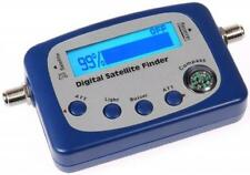 DIGITAL SATELLITE SIGNAL METER FINDER W COMPASS, BUZZER FTA DISH NETWORK BELL HD