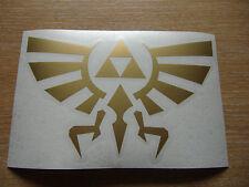 Legend of Zelda - Triforce - cut vinyl decal - 300mm x 200mm LARGE