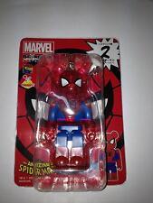 Be@rbrick Bearbrick Marvel The Avengers Super Hero Spiderman Clear Ver 100% No.2