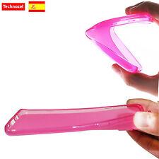 Funda Carcasa Silicona Goma Para Wiko Rainbow Jam 3G TPU Gel Rosa