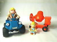 Bob The Builder Vehicle And Figure Joblot Scrambler and Dizzy