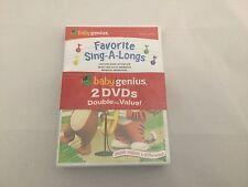 Baby Genius Kids 2 DVD Set - Favorite Children Songs and Favorite Sing-A-Long's