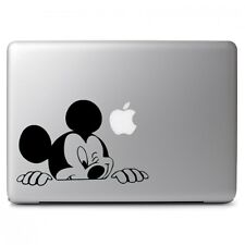 "Mickey Mouse Wink Apple Macbook Air Pro 13"" 15"" 17"" Laptop Vinyl Decal Sticker"
