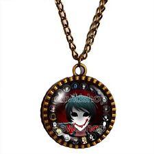 Creepypasta CREEPY PASTA Bloody Painter Necklace Pendant Jewelry Chain Cosplay