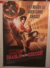 Original Movie Poster Shaolin Soccer Single Sided 27x40