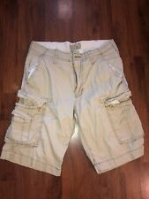 Men's Blu Law Khaki Cargo Shorts 32