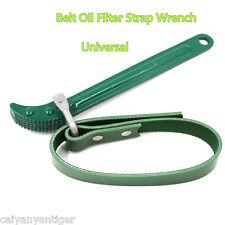 Adjustable Green Belt Oil Filter Strap Spanner Wrench For Car Repair Tool Wrench