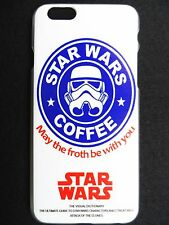 Star Wars Coffee Slogan May The Force Be With You For iPhone 6/6S Plastic Case