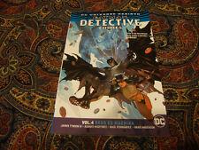BATMAN DETECTIVE COMICS VOLUME 4 DEUS EX MACHINA DC UNIVERSE