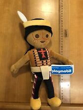 Official Playmoblie 30cm Soft Plush Toy. Apache Indian