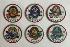 Monte Carlo Las Vegas $5 Casino Chip Brewery Beer Set 6 India Pale Ale Pub