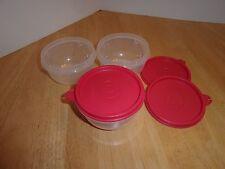 Tupperware 3 Ideal Little Bowl  8 oz NEW