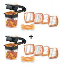 Genius Nicer Dicer Quick | 14 Teile | Orange | handformat | Retoure